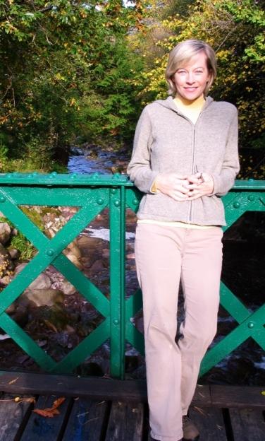 Shelley at Loch Torridon