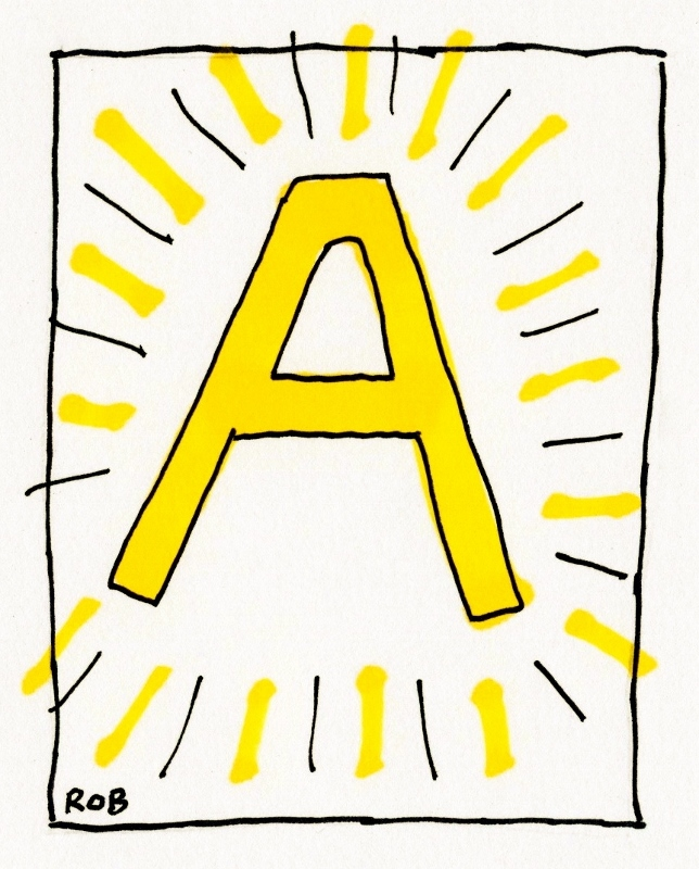 Letter A (644x800)