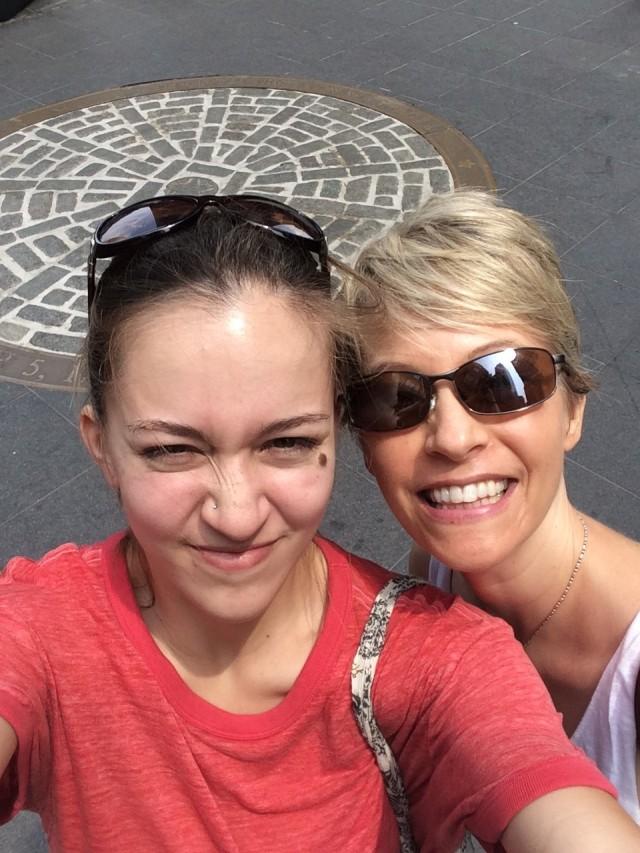 Chloe and Shelley Boston Massacre